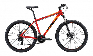 Ridge 1.0 HD 27 (Red/Orange/Black)